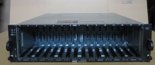 Dell PowerVault MD1000 SAS SATA 15-Bay Drive Storage Array SAN 2 x controllers